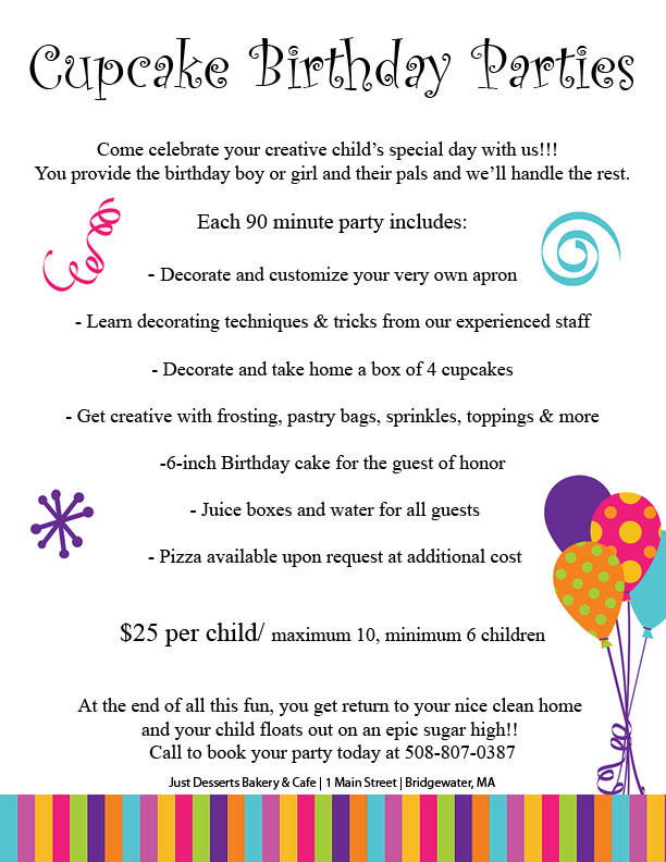 Birthday Parties Click Here For More Info